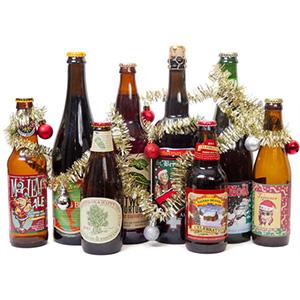 Típicas cervezas navideñas