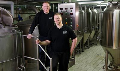 Martin y Jacob, fundadores de Amager