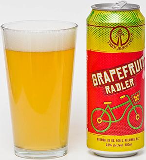 Cerveza Radler con referencia a la bicicleta