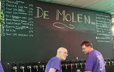 Los 20 grifos de De Molen eran un no parar