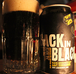 Back in Black de 21st Amendment