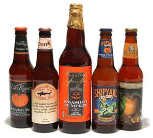 Algunas Pumpkin Ale Americanas