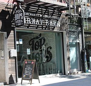 Top Hops una de las tiendas referentes en Nueva York