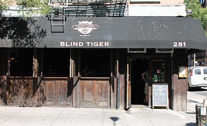 El conocido Blind Tiger de Nueva York