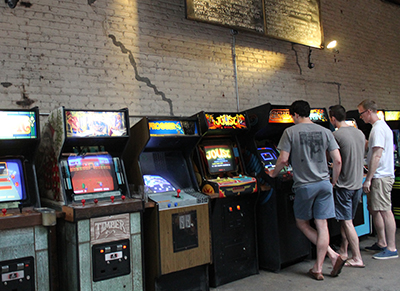 Máquinas recreativas de Barcade