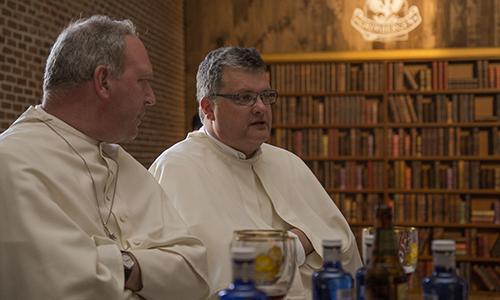 El Abad Erik y el Padr Karl