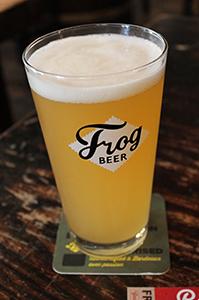 Frog Beer Kersplat!