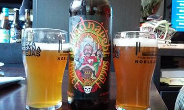 Grandes amigos y grandes cervezas